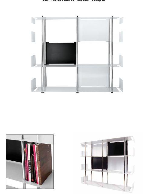 Cosmet Arredamenti, arredamento per la casa e per l'ufficio: :: Libreria in metallo